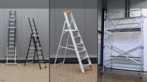 Ladders, trappen, rolsteigers